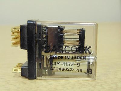 BABCOCK Plug-In Relay Relays 6 Pole K6-12V-9 AE3487-05 c4-1-23