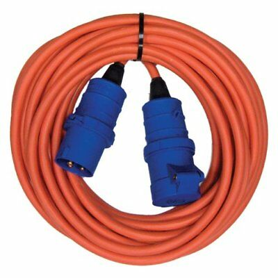 Extension Hook up Mains Lead: 10 Meter 10m cable- Motor home camping Tent Power