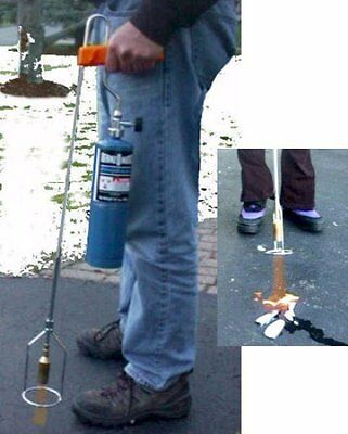 BareGrounds - Bare Blaster Weed & Ice Torch - Use on walkways, driveways & steps