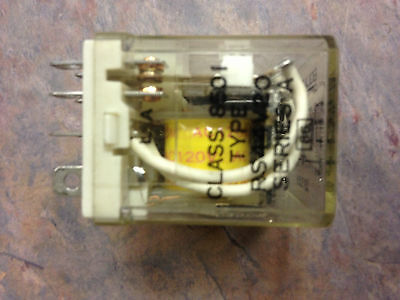 *LOT OF 2* SQUARE D 8501KP13V20 SERIES F RELAY w SOCKET BASE