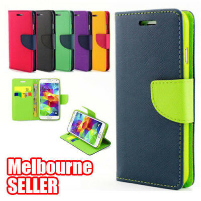 iPhone 8 6S 7 6 Plus 5 5C X Gel Leather Flip Wallet Case Cover For Apple