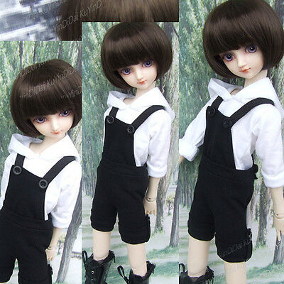 New Cute Black Casual Style Strap Shorts For 1/4 1/6 BJD MSD YOSD Doll Clothes