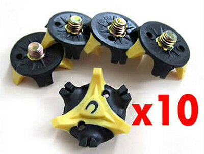 "Golf Shoe Spike Replacement Cleat Champ Twist Screw Stinger ""Small Metal Thread"""