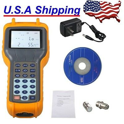 From USA Ship New RY-S110 RY S110 CATV Cable TV Digital Signal Level Meter Tools