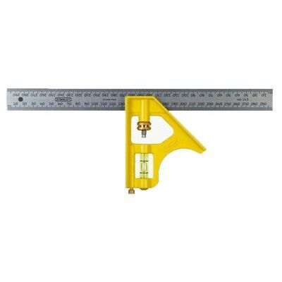 Stanley 300mm Metric Combination Square: 2-46-143