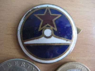 Cap Badge with Hot Enamels