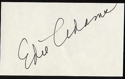 Cards & Papers Catherine Deneuve Signed Index Card Signature Autographed Auto Movies