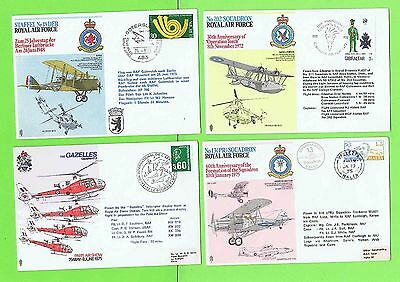 Collection of ten RAF Flight Covers including Brunei