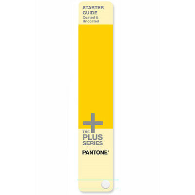 Pantone Starter Guide Solid Coated, Uncoated. With 543 colours. Latest version.
