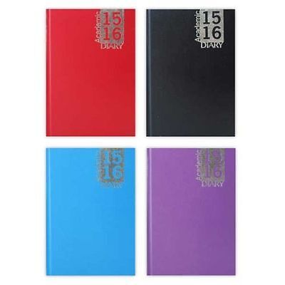 2015-2016 Mid Year Tallon Academic A4 Week To View Casebound Diary And Planner