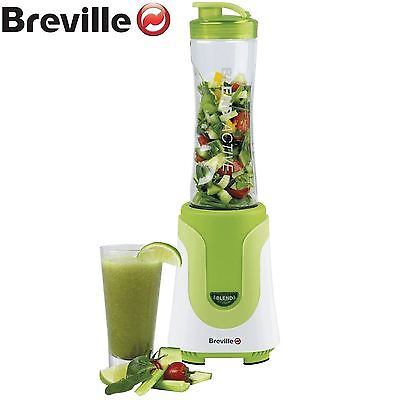 Breville Blend-Active Personal Fruit Smoothie Blender - 300 Watt - White/Green