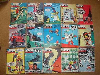 1962-65 Tintin Journals sold individually - No.727-861.