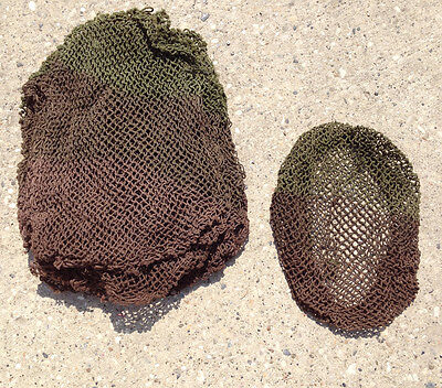 WWII Canadian Military 2-Tone  Unissued Headwear Netting Vintage (1 EACH)