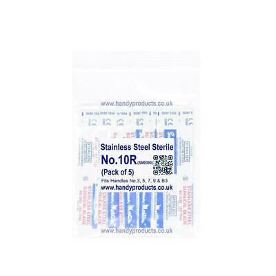 5 x Sterile Swann Morton Stainless Steel Surgical Blade Art Craft Sign Design UK
