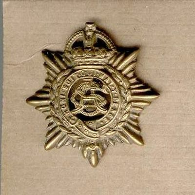 Military Great Britain  Army Service Corps Asc  Uniform Hat Badge Ww1