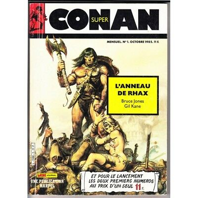 Conan Super (MON Journal) N° 1 (+2 offert) - Comics Marvel