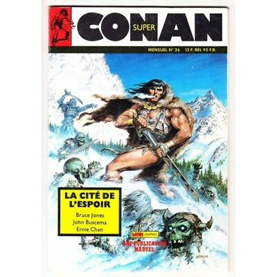Conan Super (MON Journal) N° 26 - Comics marvel