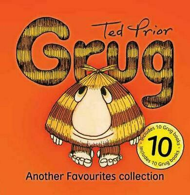 Grug by Ted Prior Hardcover Book Free Shipping!