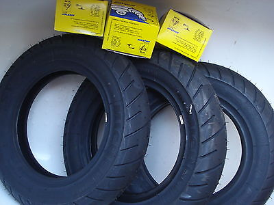 Michelin S1 x3 Tyre and Tube Deal 3.50*10 Lambretta Li TV SX GP