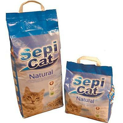 Sepicat Lightweight Clumping Ultra Cat Litter Natural 10ltr