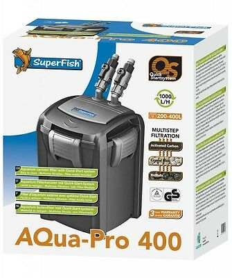 Superfish Aqua Pro QS400 Impellor Filter Replacement/Spare Fish Tank