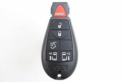 NEW 6 Button Fobik Keyless Entry Remote Key Fob For 2010 Chrysler Town & Country