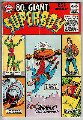80 PAGE GIANT#10 1965 Superboy EIGHTY Pg