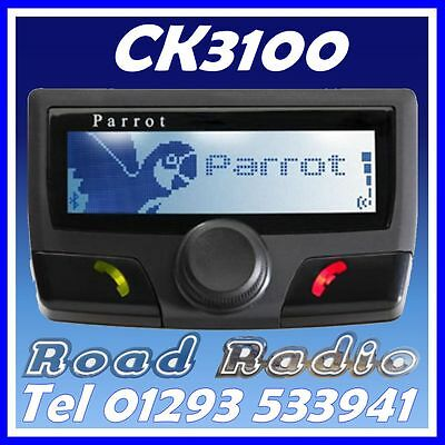 Parrot CK3100 Bluetooth Handsfree Kit. UK Stock with 2 Year Warranty