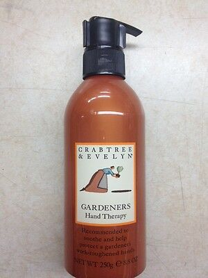 Crabtree & Evelyn Gardeners Hand Therapy with Pump 250g