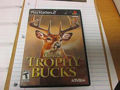 Cabela's Trophy Bucks  (Sony PlayStation 2, 2007) COMPLETE.