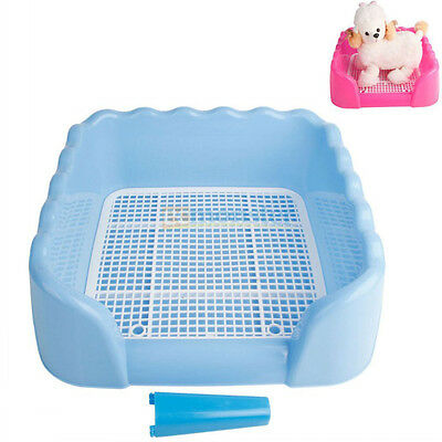 Hot Indoor Dog Pet Potty Toilet Trainning Pad Tray With Column Pet Supplies