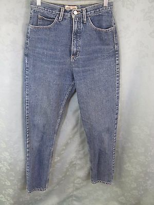 "Vintage 80""s Guess High Waist Tapered Jeans Size 30"" Made in USA"