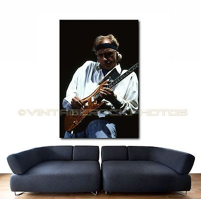 Mark Knopfler Dire Straits Poster Photo 20x30 in '80s Live Concert Canon Print 2