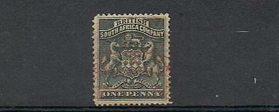 STAMPS  from  RHODESIA 1892   1d  SG1   (FINE USED )  lot A14b