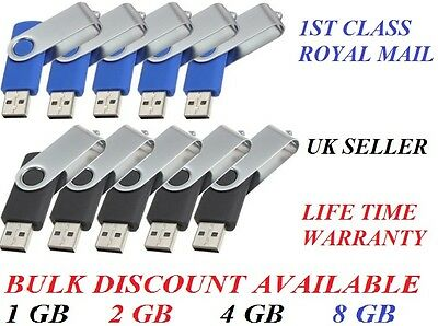 Whole sale USB Flash Memory Thumb Stick Drive Fold 1GB 2GB 4GB Wholesale job lot