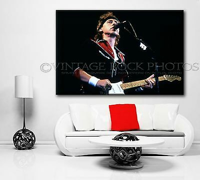 Mark Knopfler Dire Straits Poster Photo 40x60 in '80s Live Concert Canon Print 1