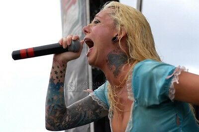 Maria Brink In This Moment Photo 8x12 or 8x10 in 2007 Ozzfest Columbus, OH LF11