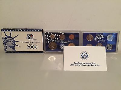 2000 S US Mint Proof 10 Coin Set Brand New IN THE ORIGINAL BOX!