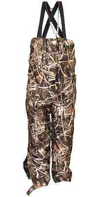 Drake Waterfowl Bibs Youth LST Insulated / Waterproof Max 4 Size 8  DW306