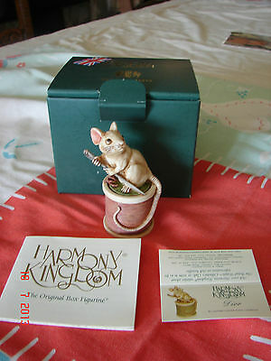 Harmony Kingdom - DIOR - MOUSE - Made In UK - SPECIAL PRICE! - NEW IN BOX
