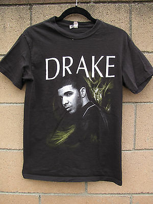 Concert Tour T-Shirt Drake 2011 - 2012 Tour List of Cities Youth Size