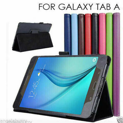 "Samsung Galaxy Tab A 9.7"" 8.0"" T550 T350 8.0"" 2017 T380 Flip Leather Case Cover"