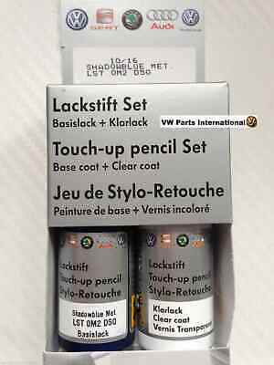 Shadow Blue LD5Q Genuine VW Touch Up Paint Audi Seat Skoda Scratch Chip
