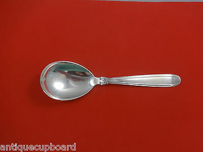 Karina by W & S Sorenson Sterling Silver Danish Berry Spoon Large 9 1/2""