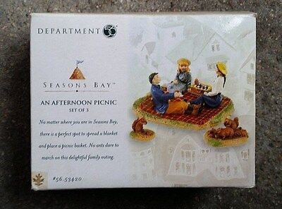 """Department 56 Seasons Bay """"An Afternoon Picnic"""""""