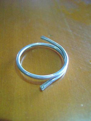 25mm CURTAIN SPLIT RINGS x 100 FOR GATHER TAPE