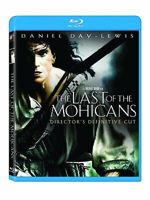 The Last of the Mohicans  (Blu-ray Disc, 2010)  Brand New