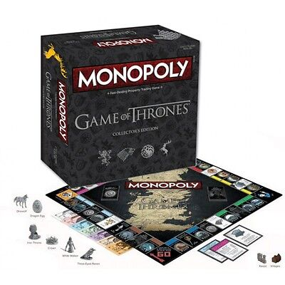 Monopoly The Game Of Thrones Collectors Edition
