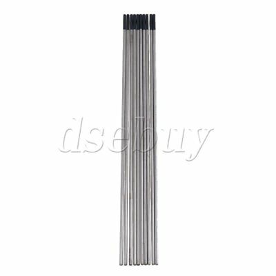 10pcs WT20 Gray TIG Welding Tungsten Electrode 2% Ceriated Replace 1.6 x 150mm