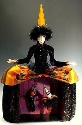 """*new* Cloth Art Doll (Paper) Pattern """"belladonna"""" By Cindee Moyer"""